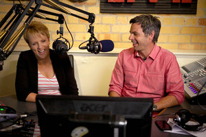 Hilary Barry and Marcus Lush