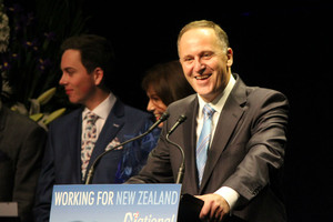 John Key National Party wins third term
