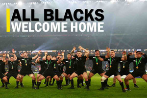 All Blacks welcome home