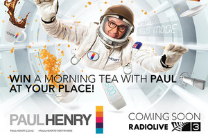 win a morning tea with paul