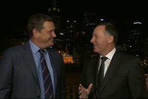 John Key Australian TV