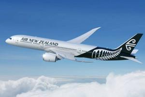 Air NZ / planes / passengers on planes