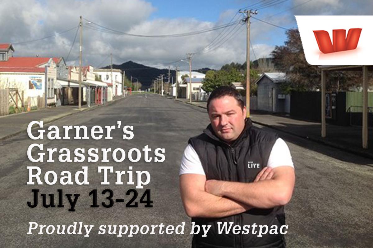 Garner's Grassroots Road Trip