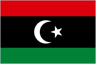 Image of the new Libya flag.