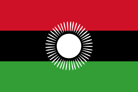 Image of the new Malawi flag.