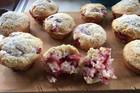 Annabelle White's strawberry muffins (Annabelle White)