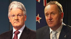 peter dunne / john key / national / prime minister