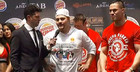 Joseph Parker / weigh-in / andy ruiz