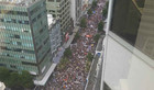 Protest from above