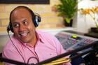 Willie Jackson in the studio
