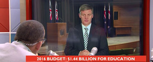 Bill English / budget