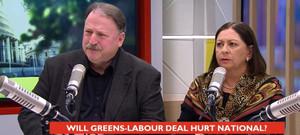 Michelle Boag / chris trotter / national / labour / greens