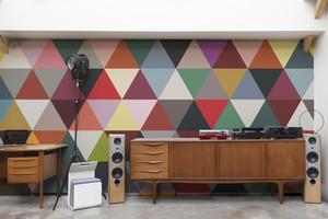 Bien Fair Mosaic wall mural in Classic