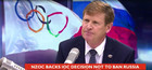 Mike Stanley / IOC / russia / nzoc / doping
