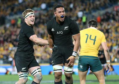 All Blacks / rugby / wallabies / bledisloe cup