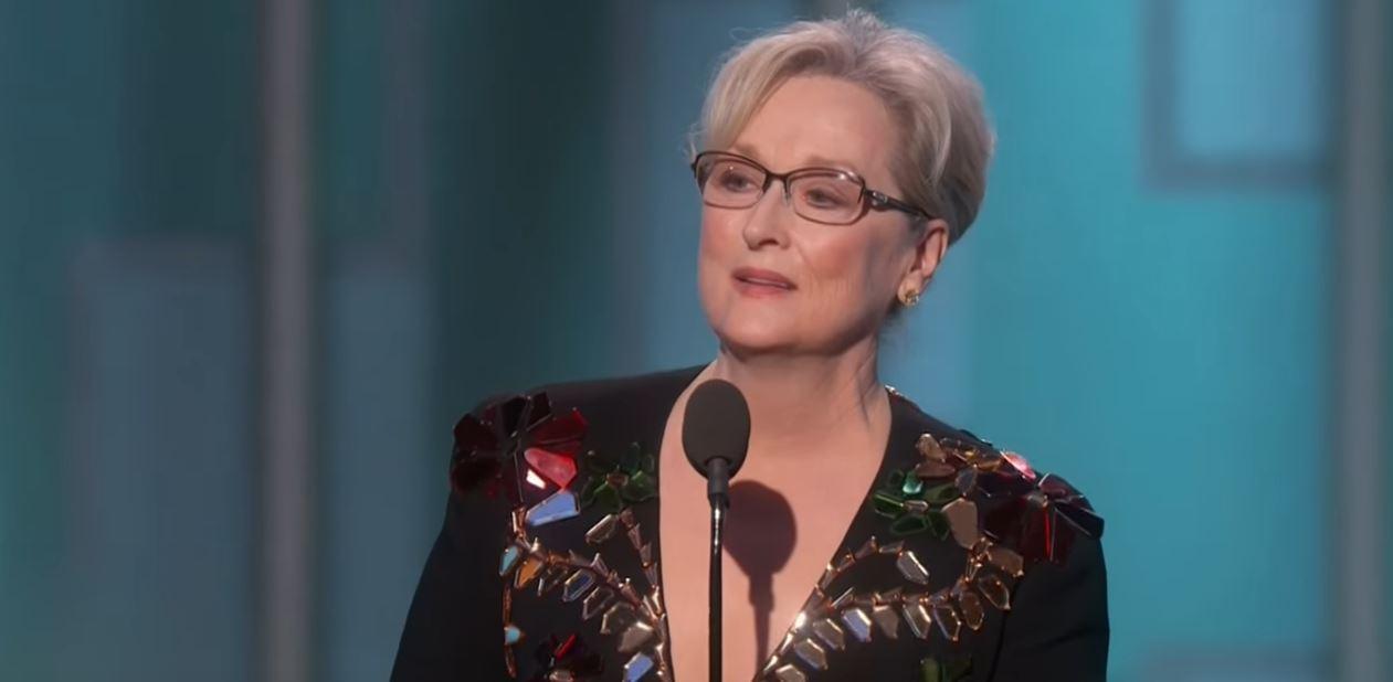 Meryl Streep / donald trump / golden globes