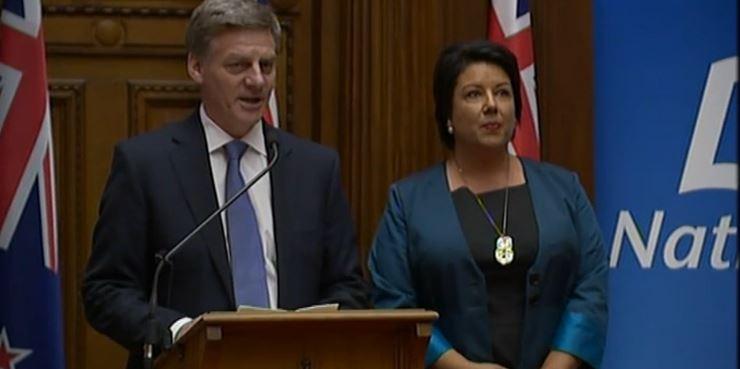 politics / bill english
