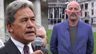 Winston Peters / Gareth Morgan / Ratana Pa