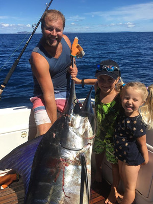 Charlie Rowe big Marlin for a 6 year old!
