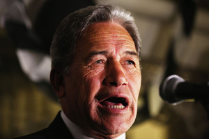 winston peters / election / northland