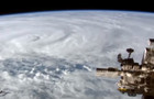 Cyclone Debbie from the International Space Station (ISS)