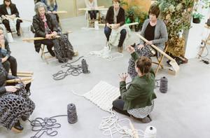 knitting / plump and co / jacinda stevenson