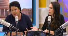 Paula Bennett and Jacinda Ardern on The AM Show